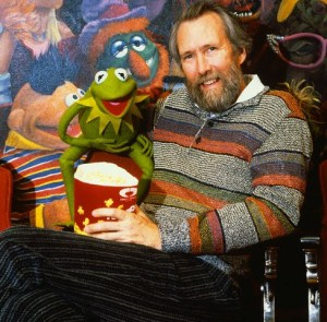 Jim Henson in Theater with Kermit the Frog