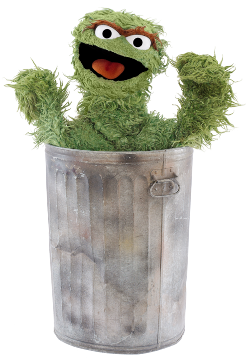Sesame Street I Love Trash