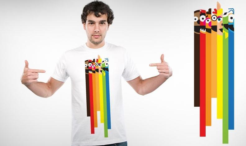 Threadless T-Shirt Contest | The Muppet Mindset