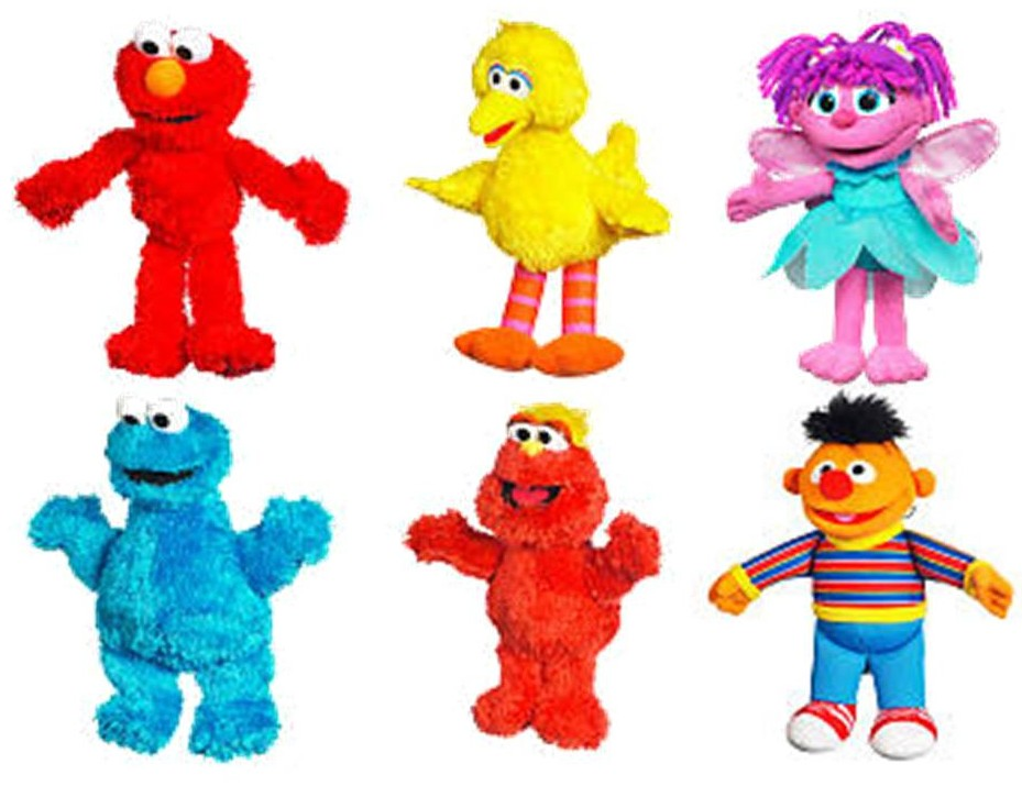 New Sesame Street Hasbro Toys Now Available | The Muppet ...