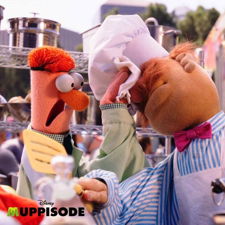 1000th Post Weekly Muppet Wednesdays Miss Piggy: The Swedish Chef Takes On Gordon Ramsay