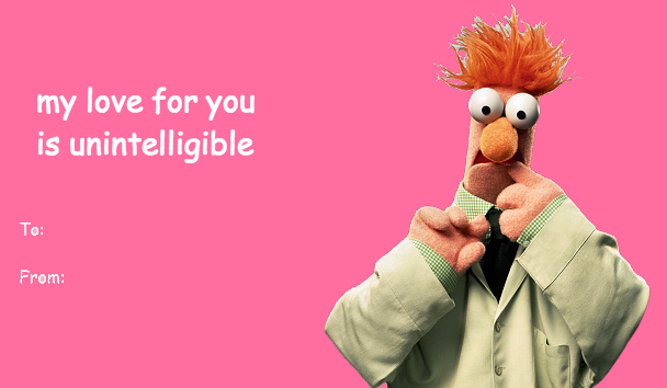 The Muppets Bad Valentines Cards – Bad Valentines Day Card