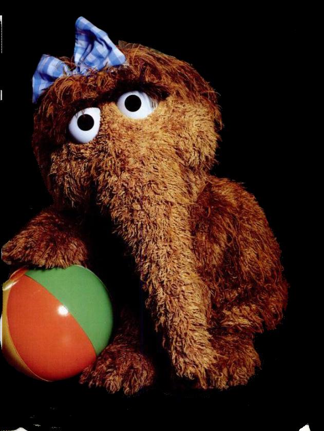 Snuffleupagus The Muppet Mindset