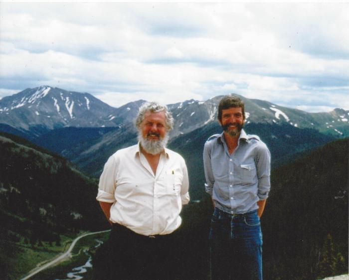 Joe Bailey and Jon Stone Photo courtesy of Joe Bailey
