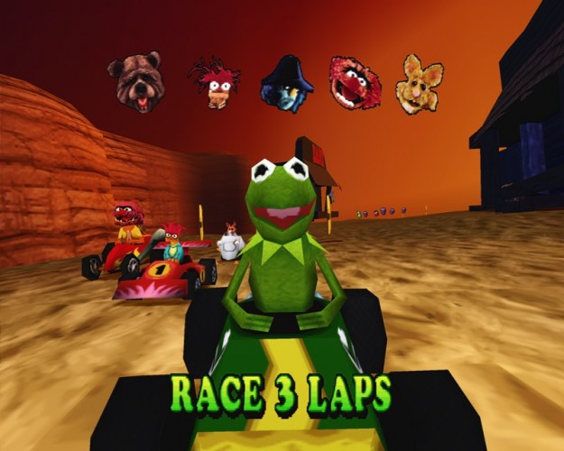 Muppets-RaceMania-Kart-Racer-PS1-PSone-Playstation-e1385917342332