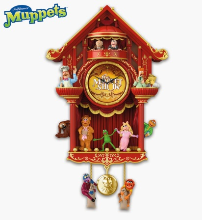 Muppet Show Wall Clock-Bradford-2015-HiRes