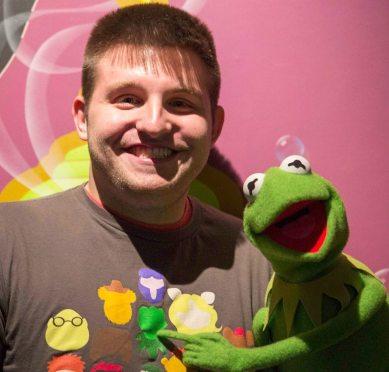 Ryan and Kermit