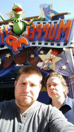 Jarrod and The Creator are sad that MuppetVision3D is closed