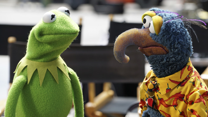 MUPPETS - Pilot  (ABC/Eric McCandless) KERMIT THE FROG, GONZO THE GREAT