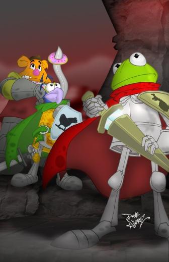 muppets_king_arthur_cover_by_davealvarez
