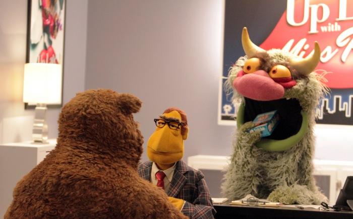 BOBO THE BEAR, THE NEWSMAN, BIG MEAN CARL