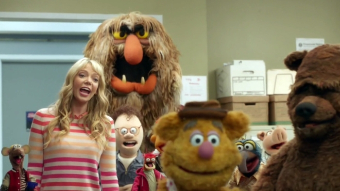 Group Rizzo Becky Riki Sweetums Chip pepe Fozzie Scooter Gonzo Randy Bobo