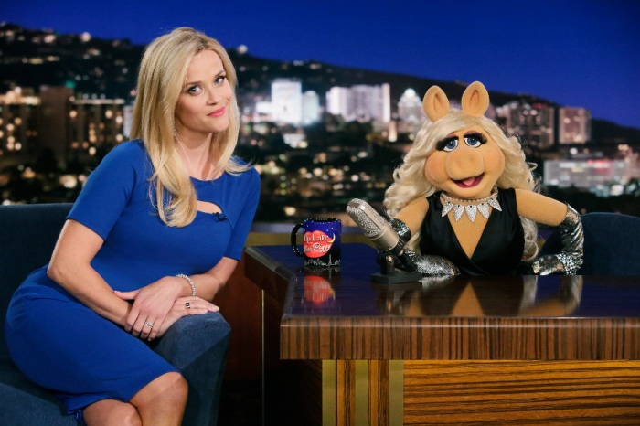 REESE WITHERSPOON, MISS PIGGY