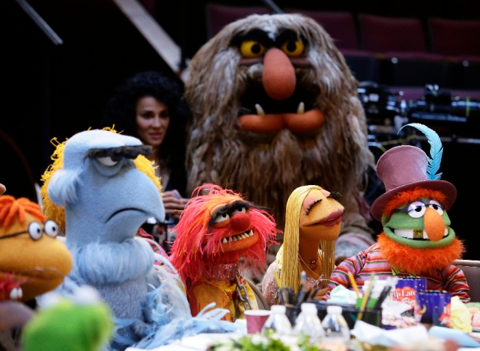 SCOOTER, SAM THE EAGLE, ANIMAL, SWEETUMS, JANICE, DR. TEETH