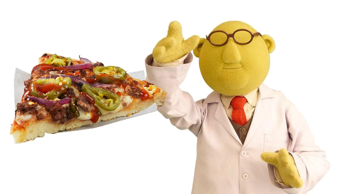 Bunsen pizza