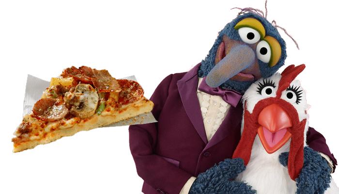 Gonzo pizza
