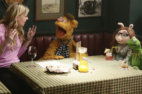 RIKI LINDHOME, FOZZIE BEAR, DENISE, KERMIT THE FROG