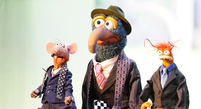 RIZZO THE RAT, THE GREAT GONZO, PEPE THE KING PRAWN