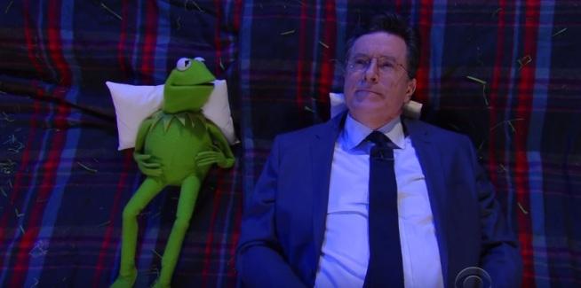 Stephen Colbert Kermit