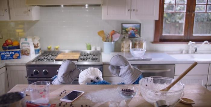 Cookie Monster Siri