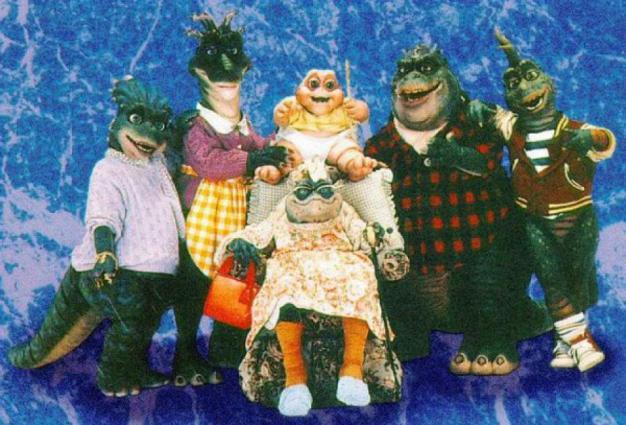 dinosaurs cast