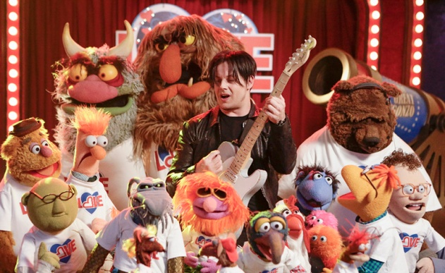 FOZZIE BEAR, DR. BUNSEN HONEYDEW, BEAKER, BIG MEAN CARL, UNCLE DEADLY, SWEETUMS, FLOYD PEPPER, JACK WHITE, THE GREAT GONZO, CAMILLA, SCOOTER, BOBO, CHIP