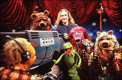 Muppets Tonight BTS