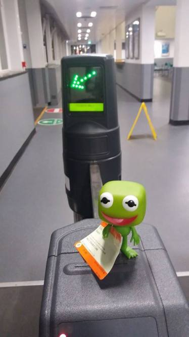 2 Kermit Goes Through the Barrier
