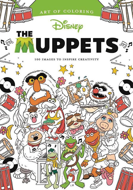 Muppets-Art Of Coloring