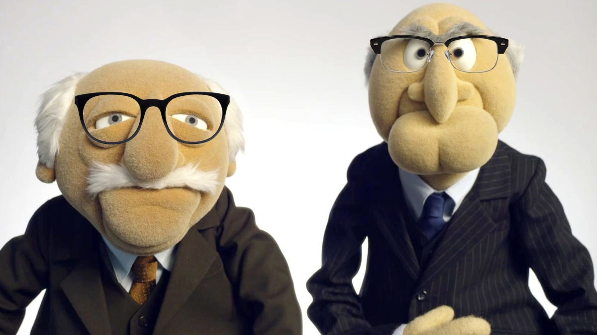 Muppets Wearing Glasses