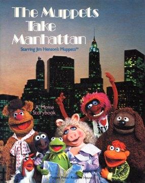 TheMuppetsTakeManhattanBook