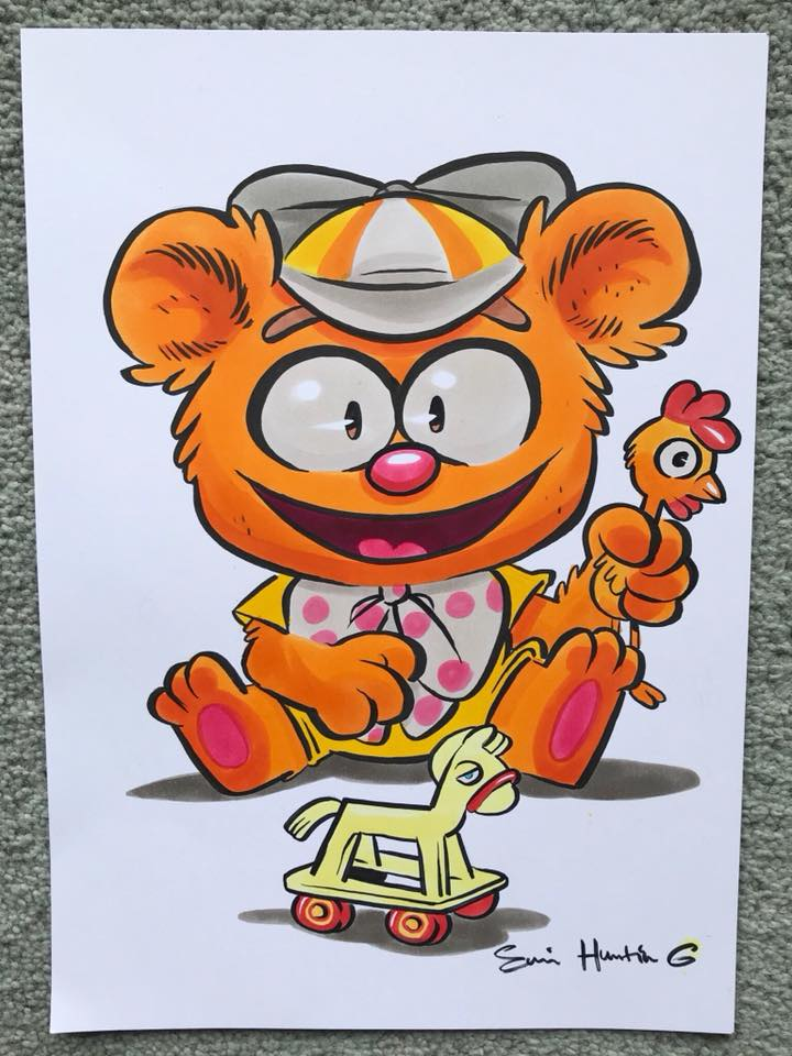 Fozzie Copic Drawing