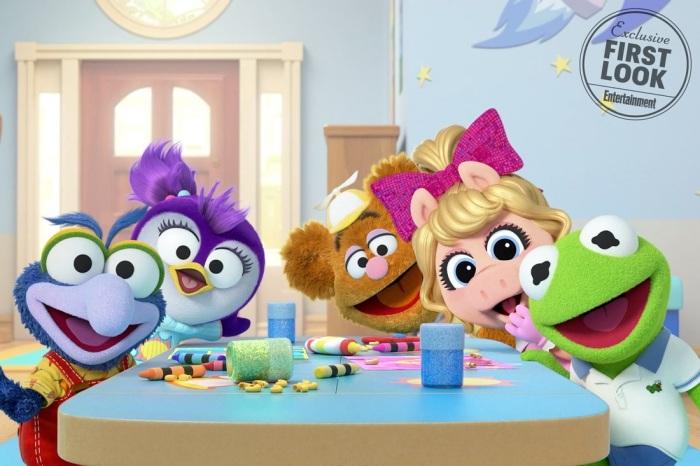 BABY GONZO, BABY SUMMER, BABY FOZZIE, BABY PIGGY, BABY KERMIT