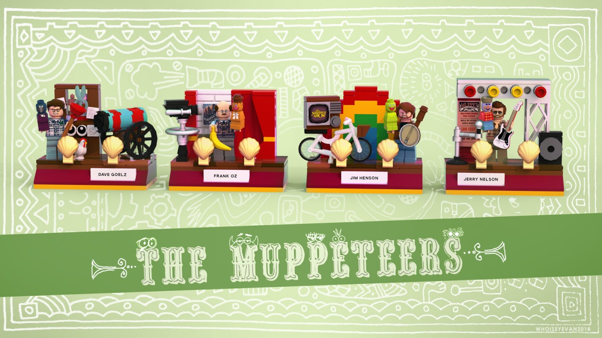 Make Muppet Performer Lego A Reality!