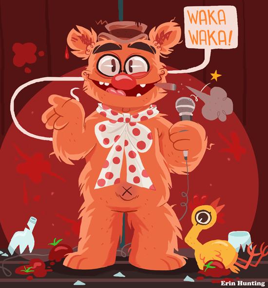 Muppets Fozzie Bear sig