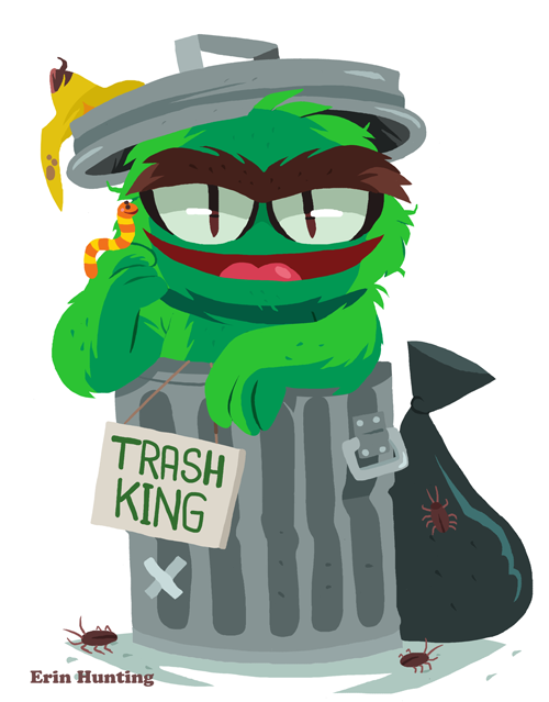 Sesame Street Oscar