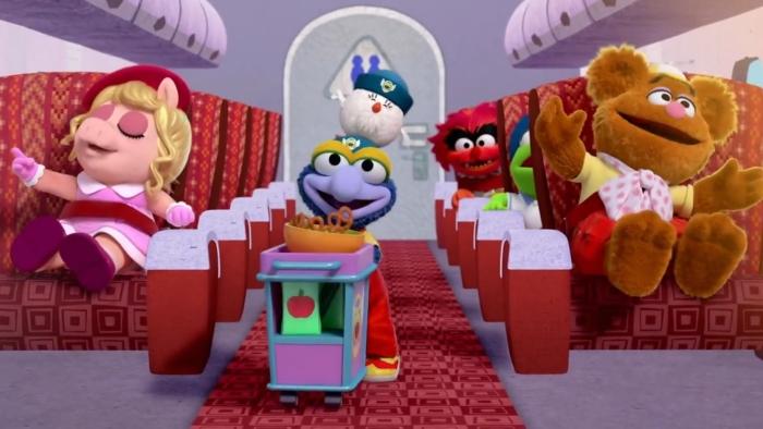 20 Muppet Babies Plane