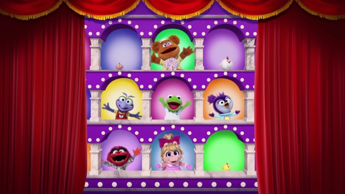 Muppet Babies arches