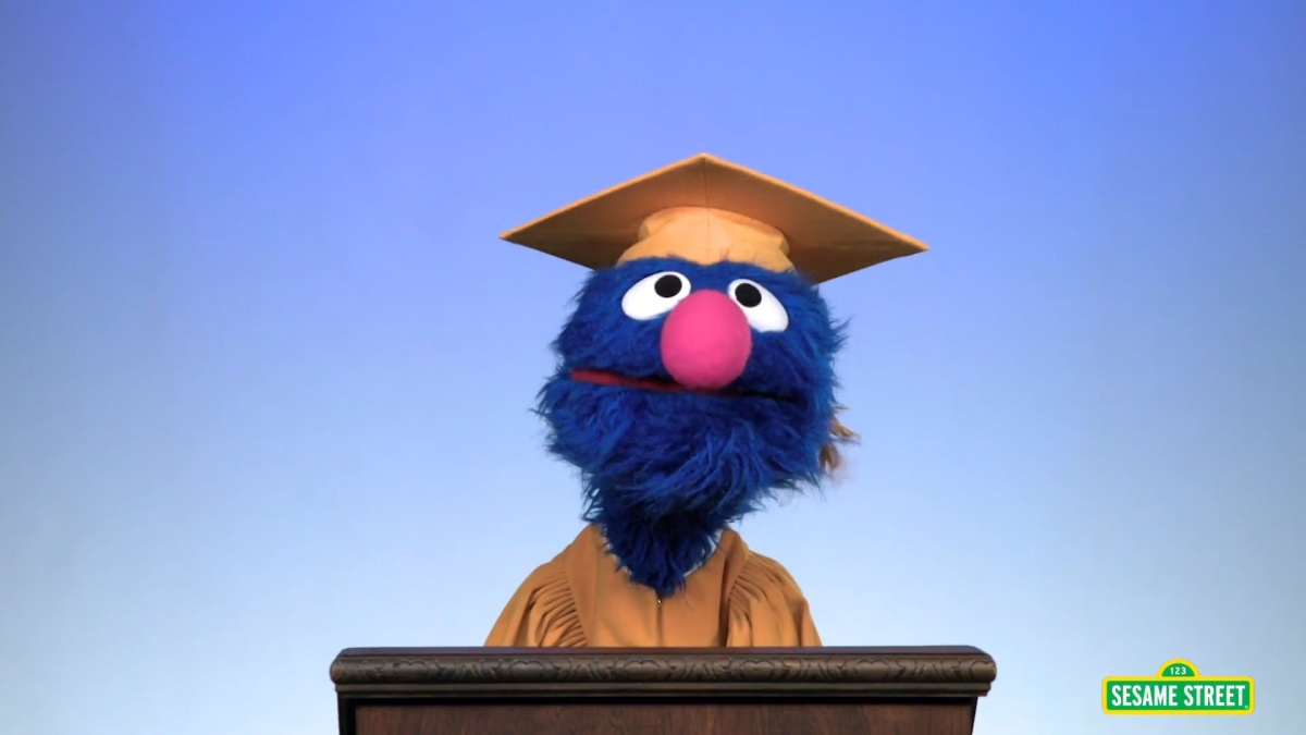 Grover's Commencement Speech