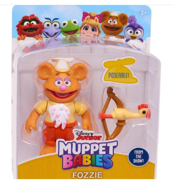 Muppet Babies - Action Figue - Fozzie
