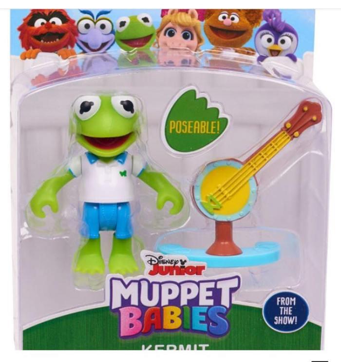 Muppet Babies - Action Figue - Kermit