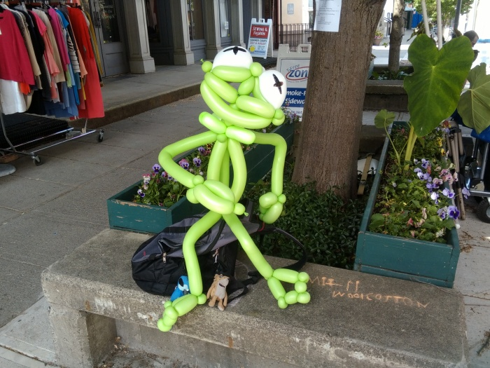 Kermit balloon Marc