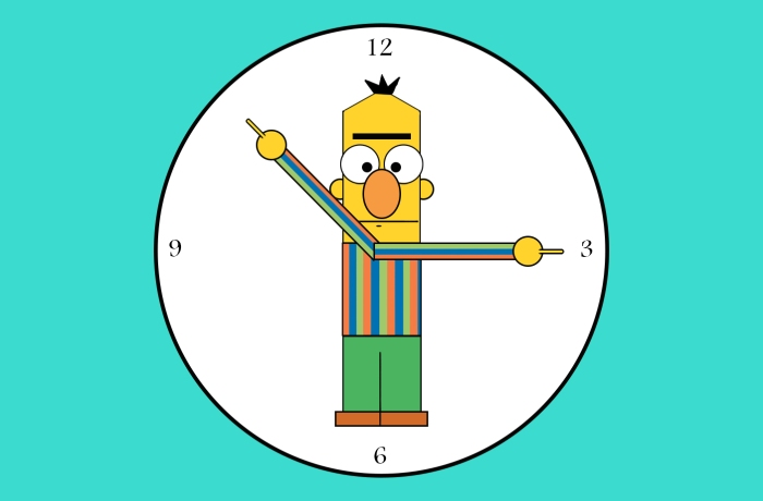 14 - C Is For Clock