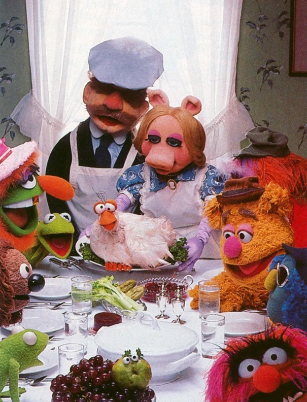 thanksgiving muppets