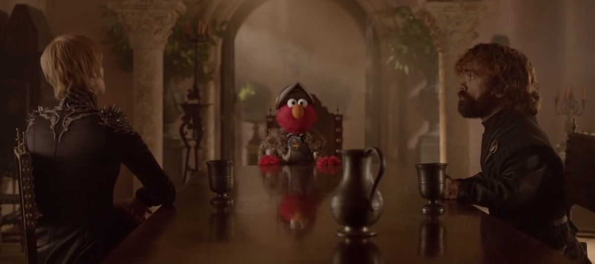Respect - With Cersei, Tyrion and Elmo!?