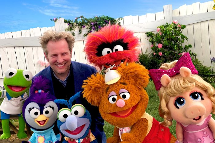 BABY KERMIT, BABY SUMMER, TOM WARBURTON (EXECUTIVE PRODUCER), BABY GONZO, BABY FOZZIE, BABY ANIMAL, BABY PIGGY